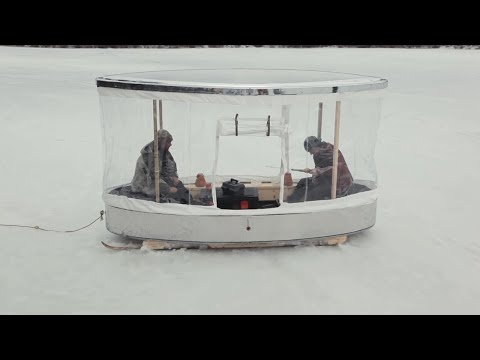 DIY PORTABLE Ice Fishing Shack