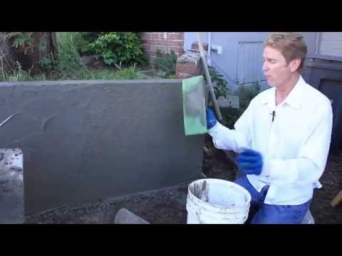 Cement Plastering Concrete or Cinder Block Walls