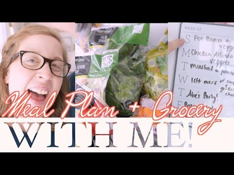 How I Meal Plan & Grocery Haul for $700 a Month! | steffiethischapter
