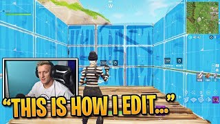 Tfue Teaches You How to Edit Faster in Fortnite   Fortnite Best Moments #98