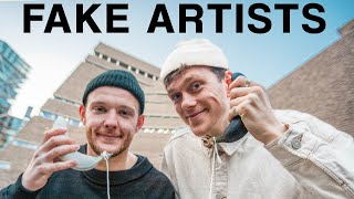 We Pretended to be Art & Fooled the Public at a Top Art Gallery