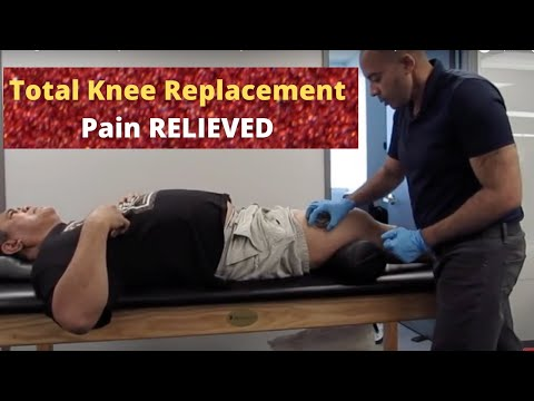 Agonizing Total Knee Replacement Pain Relief