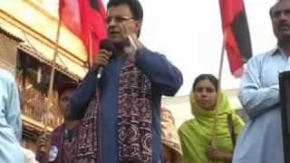 Youth Ideal Ayaz Latif Palijo historic speech Long March Karachi p-1/3