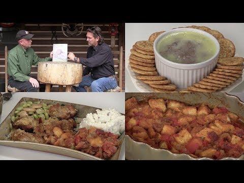 Wild Turkey Pate, Potato Chip Wild Turkey & Colonel Sanders Scalloped Tomatoes (#604)