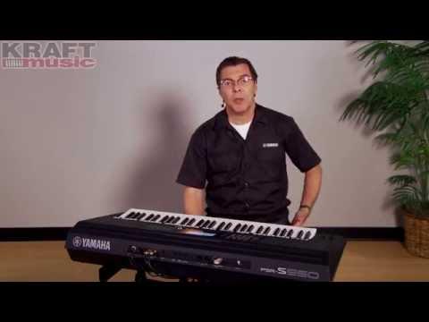 Yamaha S950 vs Roland BK9 Keyboard Demo - Keyboard Yamaha
