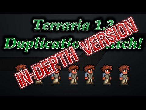 Terraria 1.3+ - Duplication Glitch! Armor, Items, and more! (IN-DEPTH VERSION)