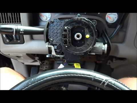 How to Replace A Combination Blinker Switch on a 2004 Dodge RAM 1500 - DIY