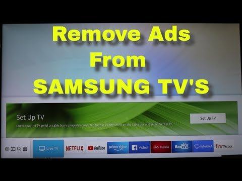How To Block Interest Based Ads On Samsung Smart Tv & Remove Smart Feature Notifications