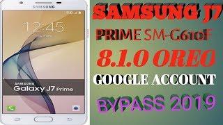 Samsung J7 Prime 8 1 Oreo Frp Bypass || Frp Unlock Latest