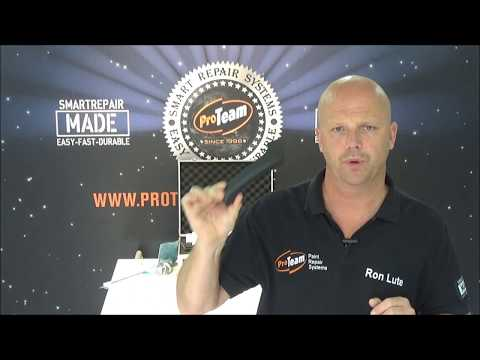 Plastic sticky parts restoration Proteam Smart Repair Systems