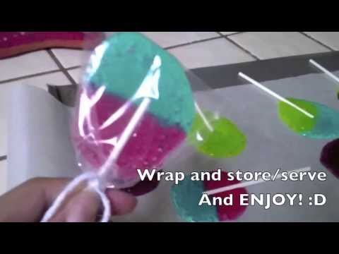How to : Jolly Rancher Lollipops