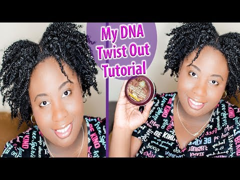 TWIST OUT TUTORIAL ON 4C NATURAL HAIR FEAT. MY DNA HAIR CARE PRODUCTS