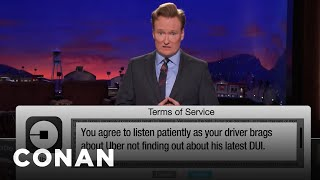 Terms Of Service: Postmates, Headspace Edition  - CONAN on TBS