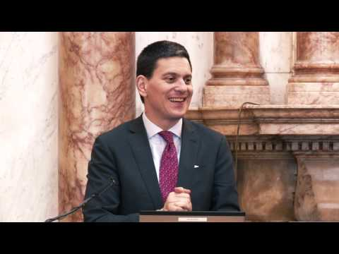 DFAT Lecture Series - David Miliband (Full Video)