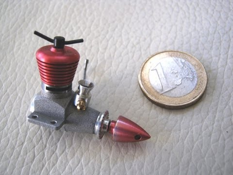 MICRO DIESEL  model engine 0.098 CC for mini rc plane