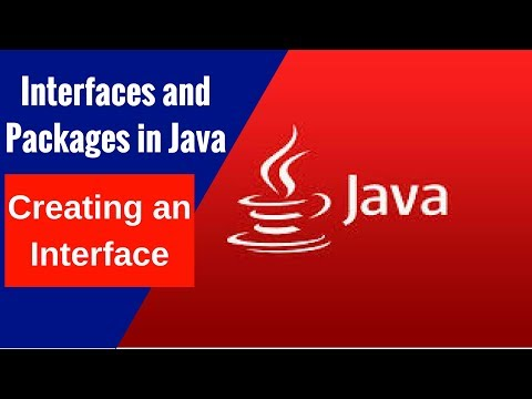 Interfaces and Packages in Java - Creating an Interface