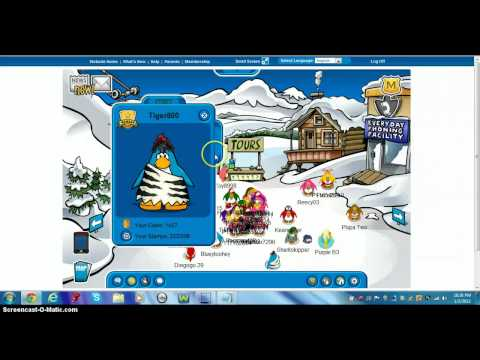 Free Club Penguin Member Account 2012 NOT BANNED