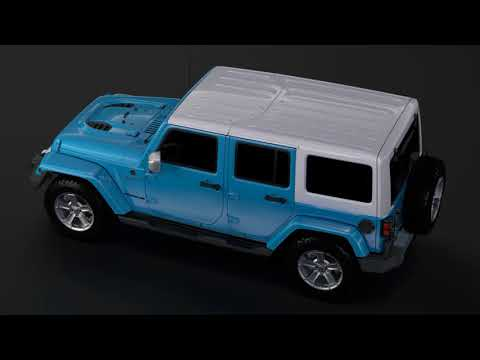 Review: 3D Model of Jeep Wrangler Unlimited Chief JK 2017