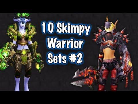 Jessiehealz - 10 Skimpy Warrior Sets #2 (World of Warcraft)