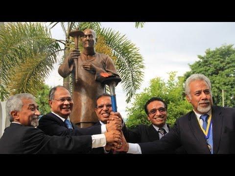 Sri Chinmoy Statue inauguration - Dili, Timor-Leste