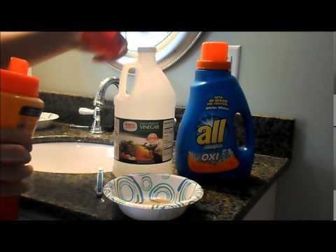 DIY sneaker cleaner