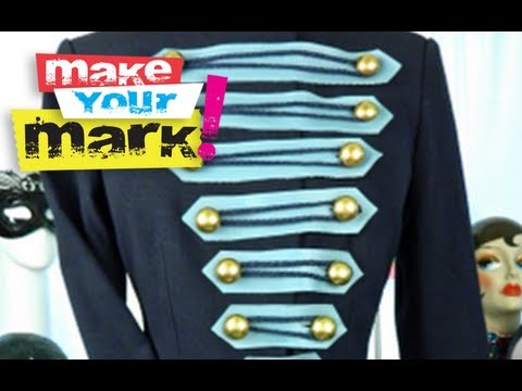 How to make a Military Style Jacket DIY