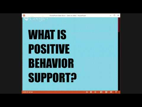 Intro to Applied Behavior Analysis for Supported Employment Professionsla