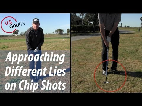 Hitting Chip Shots from Different Lies