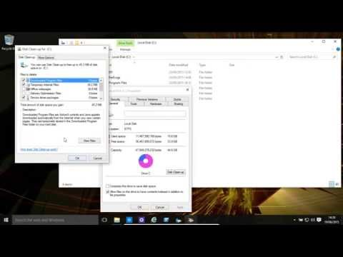 Windows 10 And 8.1 Disk Tools - Clean up, Defragment, Check Disk