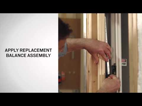 Balance Replacement on Andersen® A-Series Double-Hung Windows