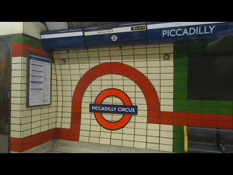 London Piccadilly Circus Underground station to Heathrow Airport Terminal 2 & 3 2015-08-25