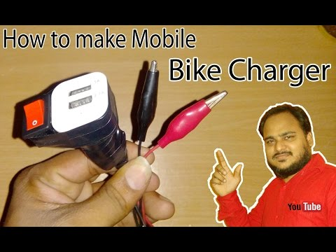 How to make USB Mobile Bike (Motorcycle) Charger With Car Charger