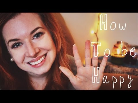How to be Happy ❤ 5 Steps to a Happier Life