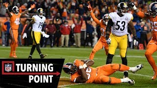 How a DL Went Against a Play for a Game-Winning Interception in Week 12 | NFL Turning Point