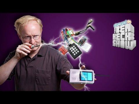 Ben Heck's DIY Cell Phone Part 1