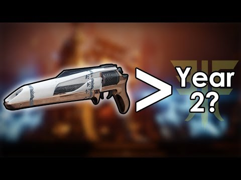Datto's Thoughts on Year 1 Weapons Progressing Into Forsaken