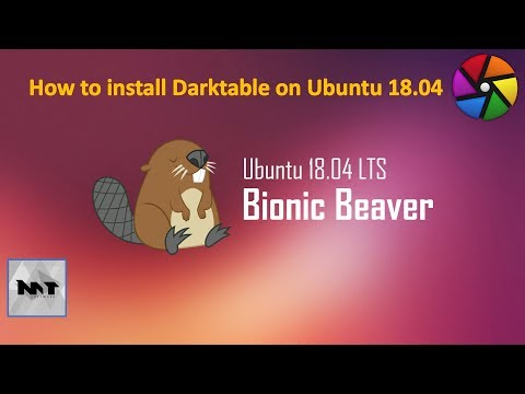 How to Install Darktable on Ubuntu 18 04