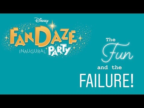 Disney FanDaze | The Fun & the Failure | What Went Wrong? | Disneyland Paris 2018