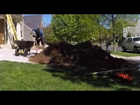 6 yards of mulch in Victoria 2016