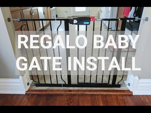 FUN TIMELAPSE REGALO BABY GATE INSTALL- NOT A HOW TO