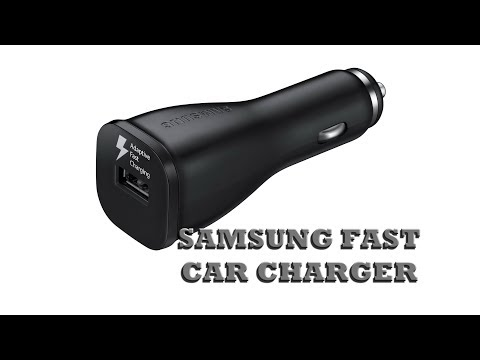 SAMSUNG Adaptive Fast Charging Vehicle Charger