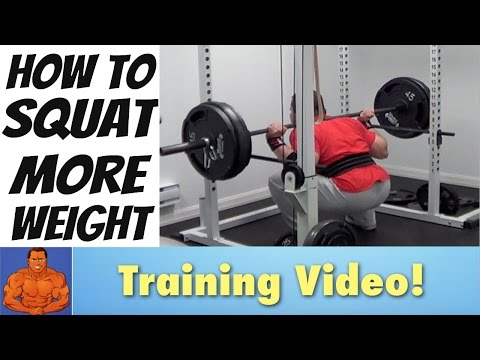 How To SQUAT More Weight... (Advanced Training Tips)