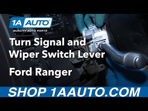 How to Install Replace Turn Signal Wiper Switch Lever 1999-03 Ford Ranger Buy parts at 1AAuto.com
