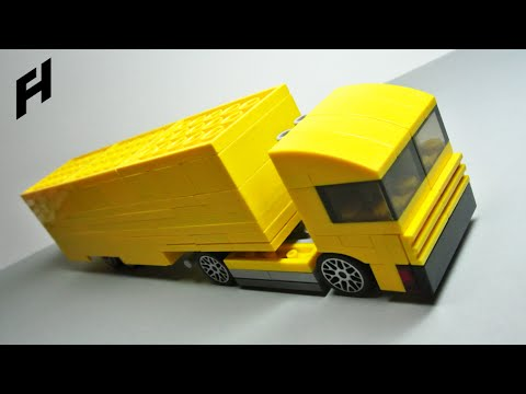 How to Build the Truck with Trailer (MOC)