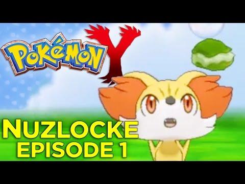 Pokémon Y Nuzlocke Challenge - Ep. 1: Garbage Boy Begins