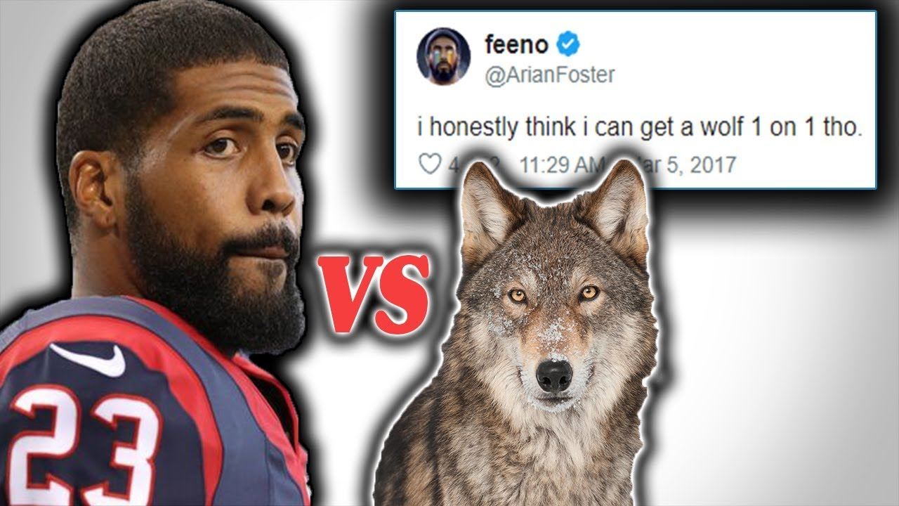 What Happened to Arian Foster? (Could He Take a Wolf 1 on 1?)