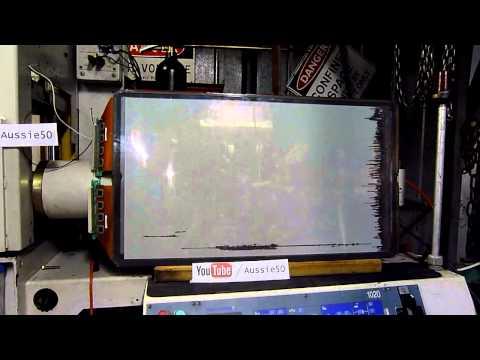 Hitachi 32 Inch Plasma Panel Goes Critical - 2000 Volts