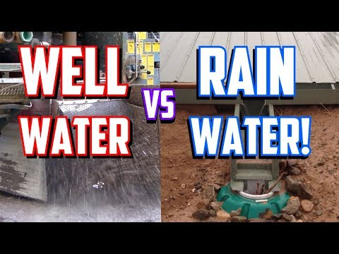 Rainwater Catchment vs. Water Wells   Pros & Cons