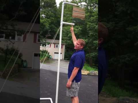 DIY Vertical Leap measuring device