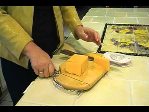 Easy Household Tips - How to Slice Cheese the Easy Way